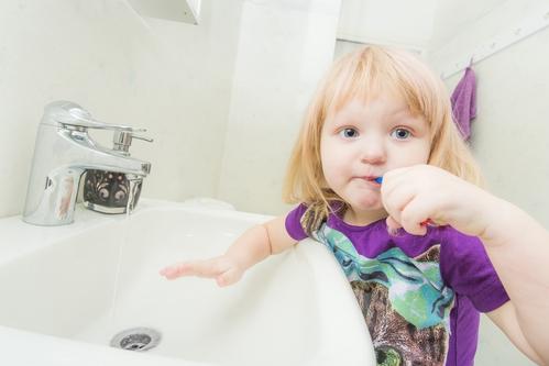 Kinder Zahnpflege
