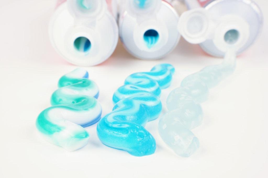 Schallzahnbürste Zahnpasta