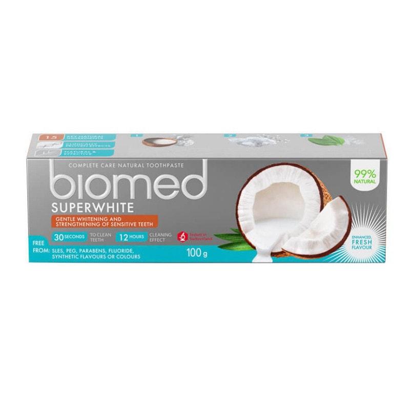 Biomed Superwhite Kokosöl Zahnpasta
