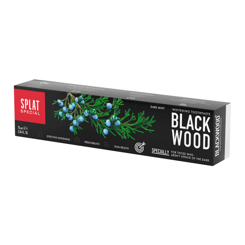 Splat Blackwood whitening