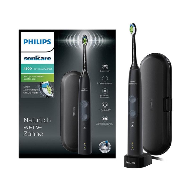 Philips Sonicare ProtectiveClean 4500 HX6830/53 Schallzahnbürste Test Rezension 2021