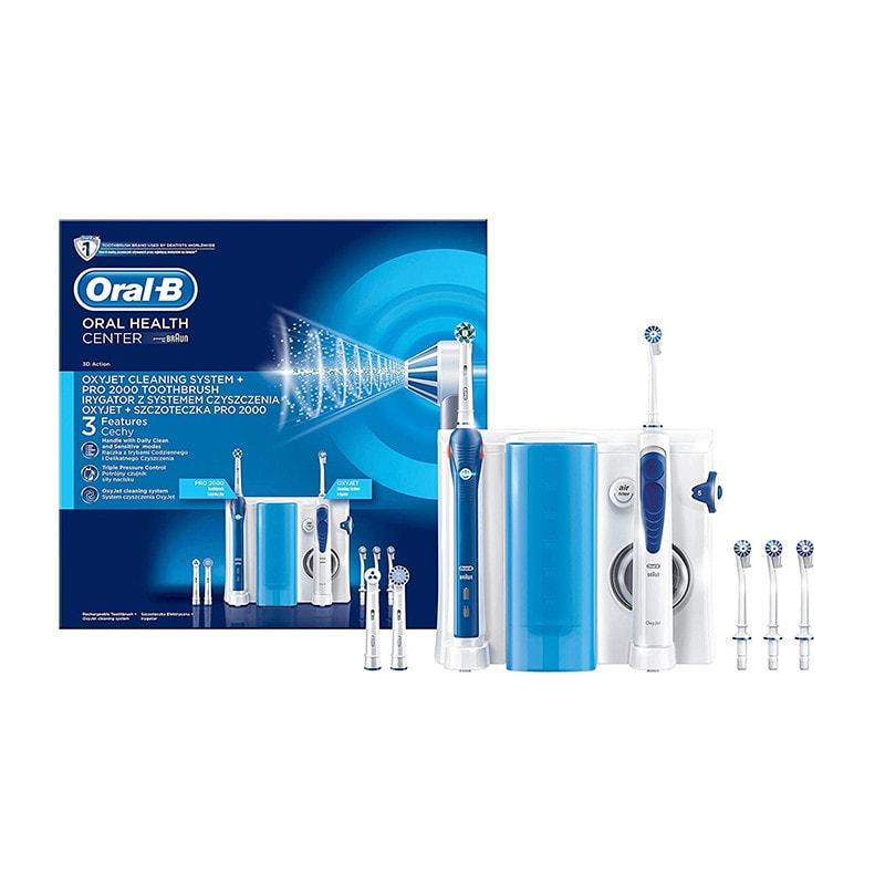 Oral-B Mundpflegecenter PRO 2000 + Oxyjet Munddusche