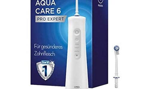 Oral-B AquaCare 6 Pro-Expert Munddusche Test Rezension 2021